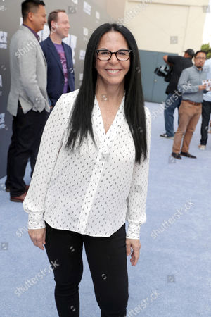"""Producer Lori Forte seen at Twentieth Century Fox """"Ice Age: Collision Course"""" Friends and Family Screening at Zanuck Theater, in Los Angeles"""