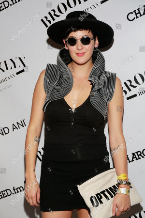 Stock Picture of Vanessa Bley of Twin Danger is seen at the Universal Music Group SXSW 2015 Experience, in Austin, Texas