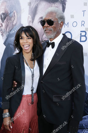 """Morgana Freeman and Morgan Freeman at Universal Pictures Presents the American Premiere of """"Oblivion"""" held at the TCL Chinese Theater on in Los Angeles"""