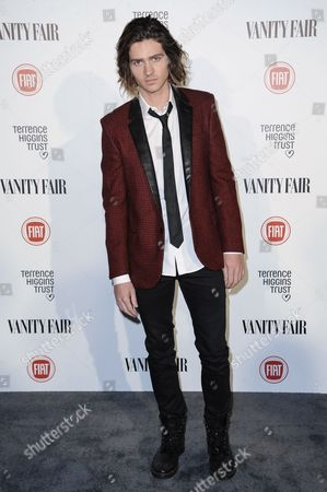 """Will Peltz arrives at Vanity Fair And The Fiat Brand Celebrate """"Young Hollywood"""", in Los Angeles"""