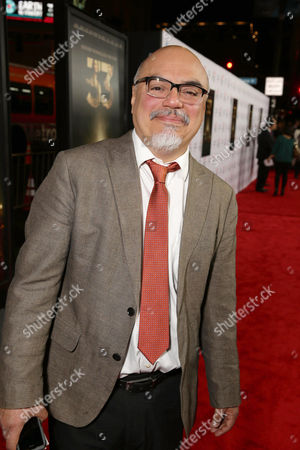 Stock Image of Author Hector Tobar seen at Warner Bros. 'The 33' Gala Screening at AFI Fest 2015 at TCL Chinese Theater, in Hollywood, CA