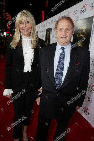 Irena Ferris and Producer Mike Medavoy seen at Warner Bros. 'The 33' Gala Screening at AFI Fest 2015 at TCL Chinese Theater, in Hollywood, CA