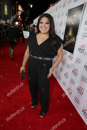 Elizabeth De Razzo seen at Warner Bros. 'The 33' Gala Screening at AFI Fest 2015 at TCL Chinese Theater, in Hollywood, CA