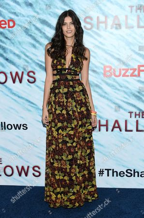 "Editorial picture of World Premiere of ""The Shallows"", New York, USA"