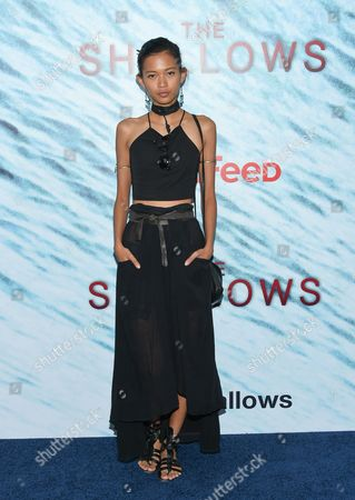 """Editorial picture of World Premiere of """"The Shallows"""", New York, USA"""