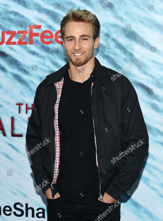 "Levi Bradley attends the world premiere of ""The Shallows"" at AMC Loews Lincoln Square, in New York"