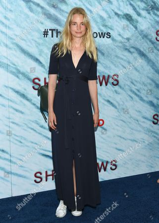 """Editorial image of World Premiere of """"The Shallows"""", New York, USA"""