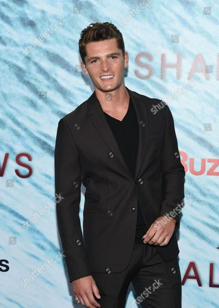 """Stock Image of Jace Moody attends the world premiere of """"The Shallows"""" at AMC Loews Lincoln Square, in New York"""