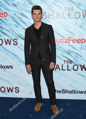 """Jace Moody attends the world premiere of """"The Shallows"""" at AMC Loews Lincoln Square, in New York"""