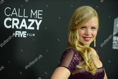 "Sofia Vassilieva arrives at the world premiere of ""Call Me Crazy: A Five Film"" at the Pacific Design Center on in Los Angeles"