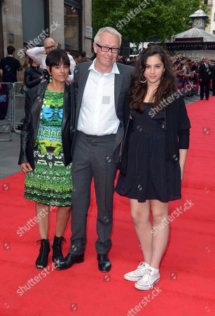 Paul Webster arrives at the world premiere of The Hummingbird at the Odeon West End in London on