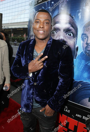 Stock Picture of Won-G Bruny seen at the Los Angeles World Premiere of Open Road Films 'A Haunted House 2,' on in Los Angeles