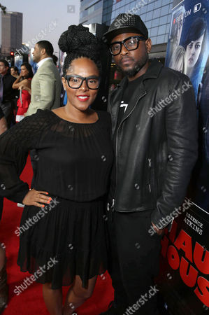 Keisha Epps and Omar Epps seen at the Los Angeles World Premiere of Open Road Films 'A Haunted House 2,' on in Los Angeles