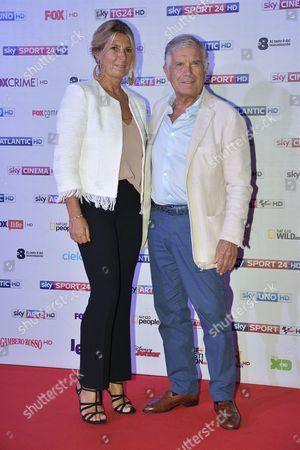 Giacomo Agostini with wife Maria