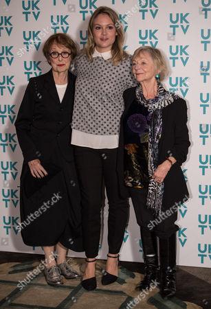 Una Stubbs, Kimberley Nixon and Sheila Reid