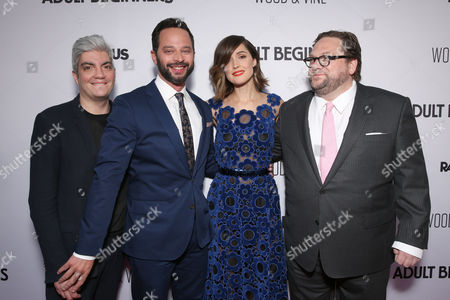 """Producer Jared Goldman, Nick Kroll, Rose Byrne and Director Ross Katz attend the """"Adult Beginners"""" LA Premiere, In Partnership with Wood & Vine at Arclight Cinemas on in Los Angeles"""