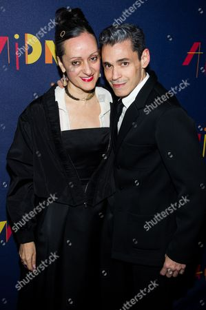 """Isabel Toledo and Ruben Toledo attend the Broadway opening of """"After Midnight"""" on in New York"""