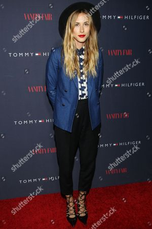 Gillian Zinser attends the Zooey Deschanel for Tommy Hilfiger Collection launch event at The London Hotel on in West Hollywood, California
