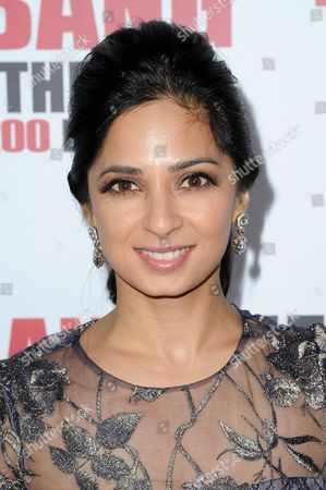 """Stock Photo of Aarti Mann attends the 200th Episode Celebration of """"The Big Bang Theory"""" held at Vibiana, in Los Angeles"""