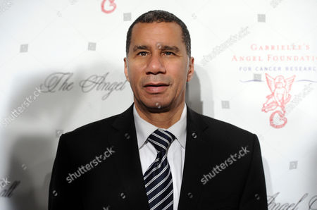 Former New York Gov. David Paterson attends Gabrielle's Angel Foundation 2012 Angel Ball cancer research benefit at Cipriani Wall Street on in New York