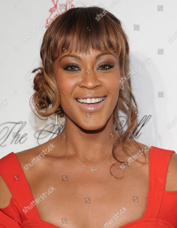 Shontelle attends Gabrielle's Angel Foundation 2012 Angel Ball cancer research benefit at Cipriani Wall Street on in New York
