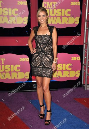 Sarah Darling arrives at the 2012 CMT Music Awards on in Nashville, Tenn