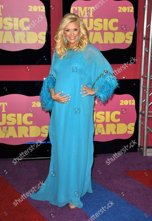 Allison DeMarcus arrives at the 2012 CMT Music Awards on in Nashville, Tenn