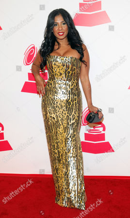 Stock Picture of Elizabeth Ortiz arrives at the 2012 Latin Recording Academy Person of the Year Tribute to Caetano Veloso at the MGM Grand Garden Arena, in Las Vegas