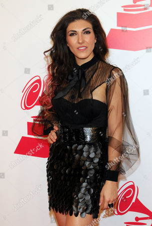 Ana Victoria arrives at the 2012 Latin Recording Academy Person of the Year Tribute to Caetano Veloso at the MGM Grand Garden Arena, in Las Vegas
