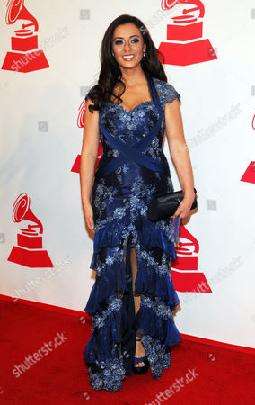 Paulina Aguirre arrives at the 2012 Latin Recording Academy Person of the Year Tribute to Caetano Veloso at the MGM Grand Garden Arena, in Las Vegas