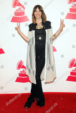 Stock Image of Deborah De Corral arrives at the 2012 Latin Recording Academy Person of the Year Tribute to Caetano Veloso at the MGM Grand Garden Arena, in Las Vegas