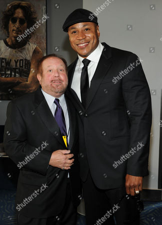 SEPTEMBER 15: Ken Ehrlich (L) and LL Cool J attend the Academy of Television Arts & Sciences 64th Primetime Creative Arts Emmy Awards at Nokia Theatre L.A. Live on in Los Angeles, California