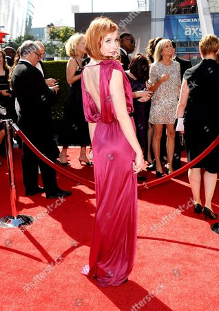 Mary Kate Wiles arrives at the 2013 Primetime Creative Arts Emmy Awards, on at Nokia Theatre L.A. Live, in Los Angeles, Calif