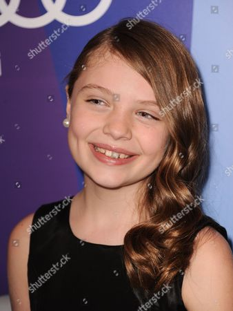 Actress Madison Moellers arrives at Variety's 5th Annual Power of Women event at the Beverly Wilshire Hotel, in Beverly Hills, Calif