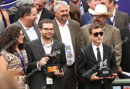 Editorial image of 2014 Breeders' Cup World Championships Trophy Lounge - Day 2, Arcadia, USA