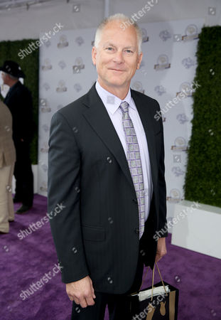 Kenny Mayne attends day 2 of the 2014 Breeders' Cup World Championships at Santa Anita Park, in Arcadia, Calif