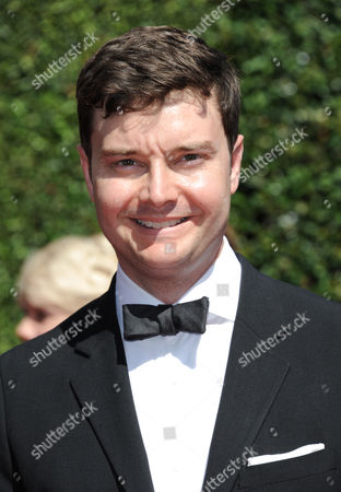 Stock Picture of Michael McMillian arrives at the 2014 Creative Arts Emmys at Nokia Theatre L.A. LIVE, in Los Angeles
