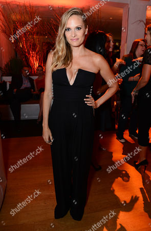 Vinessa Shaw attends Entertainment Weekly's Pre-Emmy Party sponsored by L'Oreal Paris and Hearts On Fire at Fig & Olive in West Hollywood, Calif. on