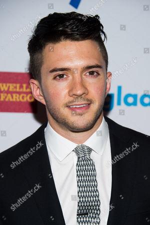 Stock Picture of Blake Skjellerup attends the GLAAD Media Awards on in New York