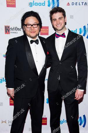Editorial image of 2014 GLAAD Media Awards, New York, USA