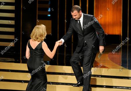 Editorial photo of 2014 Primetime Emmy Awards - Show, Los Angeles, USA