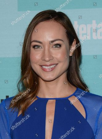 Courtney Ford arrives at Entertainment Weekly's Annual Comic-Con Party at FLOAT at the Hard Rock Hotel on in San Diego, Calif