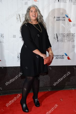 Trixie Garcia attends the 46th Annual Songwriters Hall Of Fame Induction and Awards Gala at the Marriott Marquis, in New York