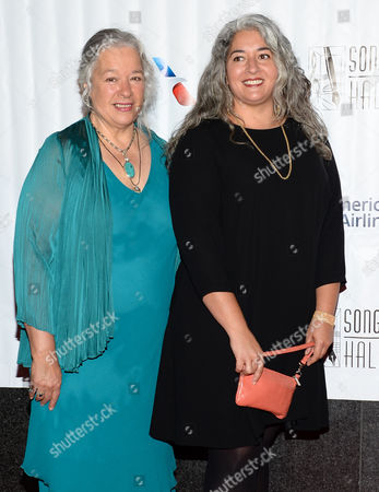 Carolyn Garcia, left, and daughter Trixie Garcia attend the 46th Annual Songwriters Hall Of Fame Induction and Awards Gala at the Marriott Marquis, in New York