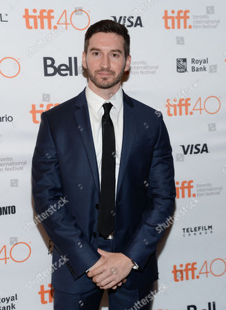 """Garrett Hines attends the premiere for """"Trumbo"""" on day 3 of the Toronto International Film Festival at the Elgin Theatre, in Toronto"""