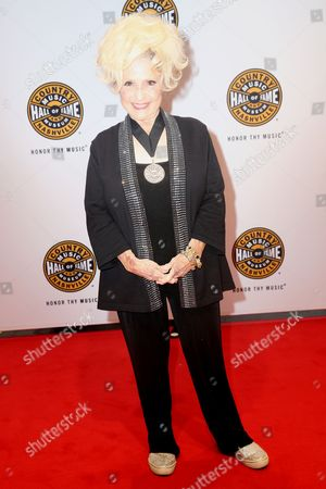 Artist Brenda Lee on the red carpet of the Country Music Hall of Fame Medallion Ceremony at the Country Music Hall of Fame and Museum on in Nashville, Tenn