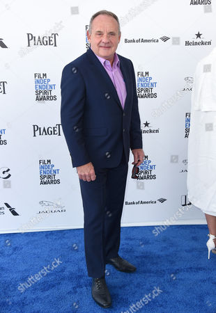 Stock Picture of Paul Guilfoyle arrives at the Film Independent Spirit Awards, in Santa Monica, Calif