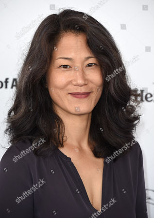 Stock Picture of Jacqueline Kim arrives at the Film Independent Spirit Awards, in Santa Monica, Calif