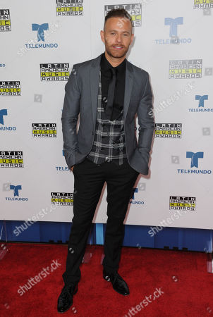 Luis Ernesto Franco poses backstage at the Latin American Music Awards at the Dolby Theatre, in Los Angeles