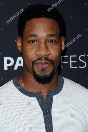 """Aaron Jennings attends the """"Pure Genius"""" screening and panel discussion at the 2016 PaleyFest Fall TV Previews, in Beverly Hills, Calif"""